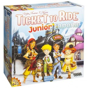 Ticket to Ride (Билет на поезд) Junior: Европа